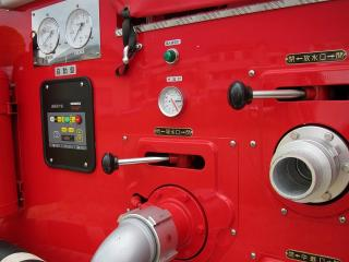 羽根消防団 第1部 小型動力ポンプ付積載車