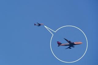 デルタ航空 B747