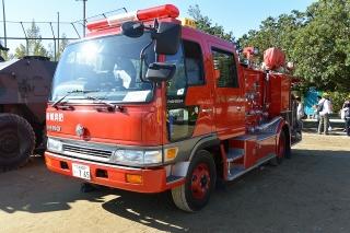 新城市消防署 東栄分署 消防ポンプ車(水槽付ポンプ自動車)