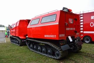 中消防署 本署 全地形対応車両 レッド・サラマンダー