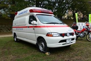 中消防署 本署 中救急3号車 高規格救急自動車 トヨタTC-VCH38S