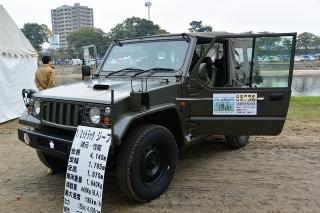 陸上自衛隊 1/2tトラック 73式小型トラック(三菱 パジェロ改)