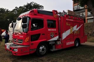 中消防署 本署 中救助工作車 日野BDG-GX7JGWA改 艤装:平和機械