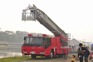 西消防署 本署 西はしご車 はしご付消防ポンプ自動車 (40m)