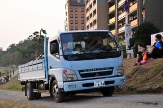 消防本部 資材運搬車 三菱PA-FE82DE