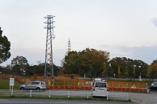ソニー幸田線 第一〇号鉄塔 チモツ167 昭和六十三年九月建設 中部電力株式会社