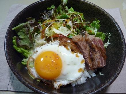 ロコモコステーキ丼