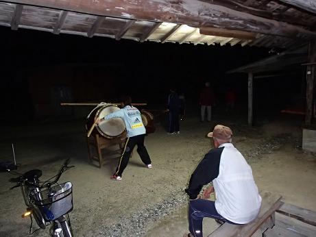 2013 祭り太鼓の練習
