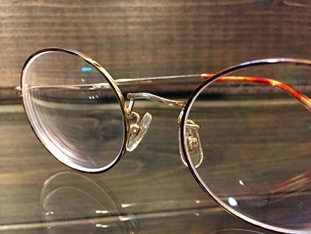 新潟 アンティーク 眼鏡 フレーム 度入り