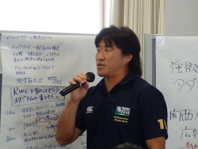 アンバサダー 松田氏