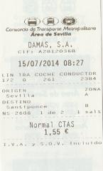 サンティポンセ バスチケット01