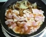 玉ねぎと豚肉の甘煮3