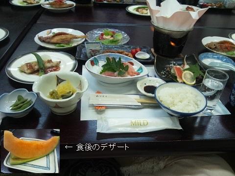 DSC_0405 池の平ホテル セゾン・あんこう鍋