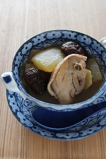 鶏と冬瓜の煮込み1