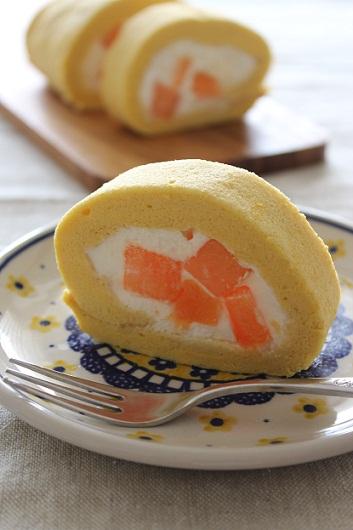 メロンのロールケーキ2