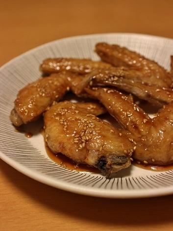 鶏手羽甘辛1
