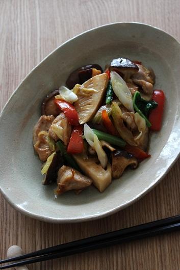 鶏肉と野菜の中華風炒め物