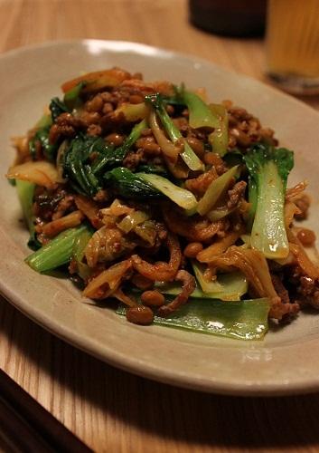 キムチ納豆1