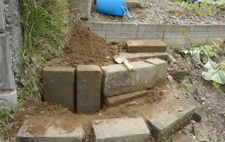 石階段の補修2