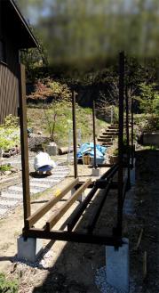 薪小屋の構造