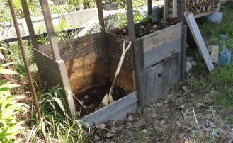 2013 堆肥の撹拌終了