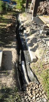 201308排水工事 後は埋めるだけ