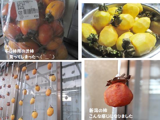 干し柿、おいしく出来るかな?