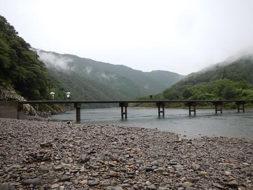 岩間沈下橋1