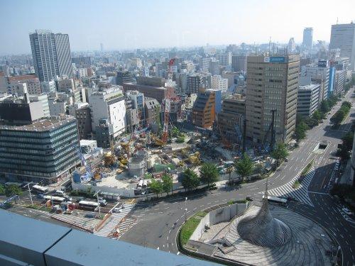 4名古屋駅前景色