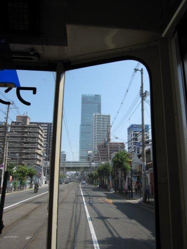 5阪堺電車車窓
