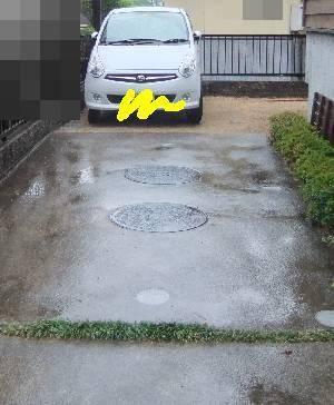 駐車スペース3
