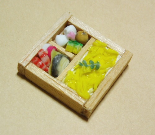 錦糸卵のお弁当