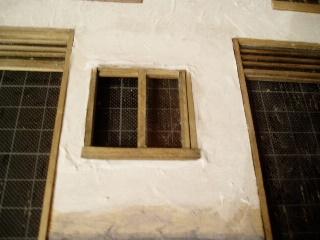 窓の仕上げ