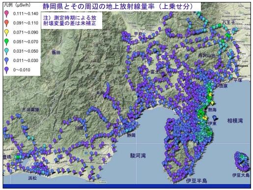 静岡県汚染地図3