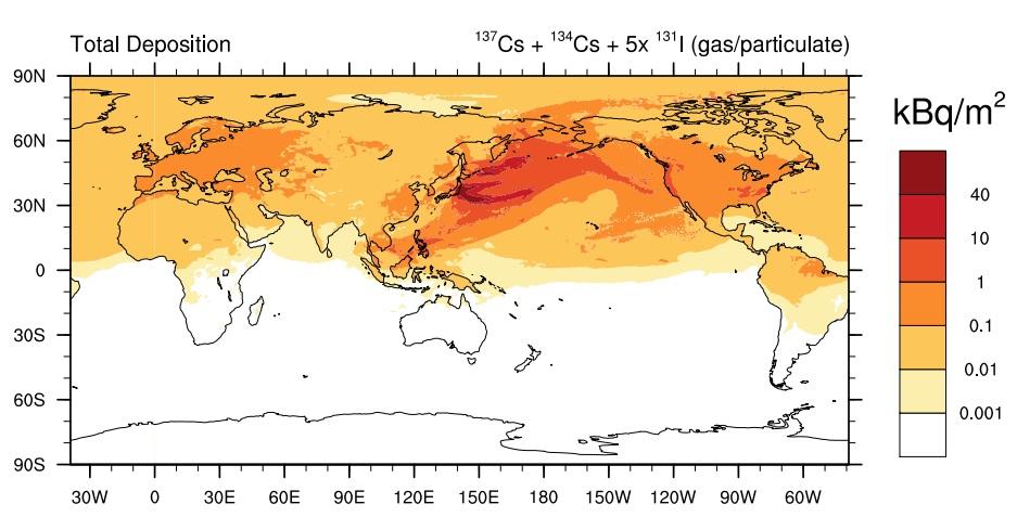 世界汚染地図