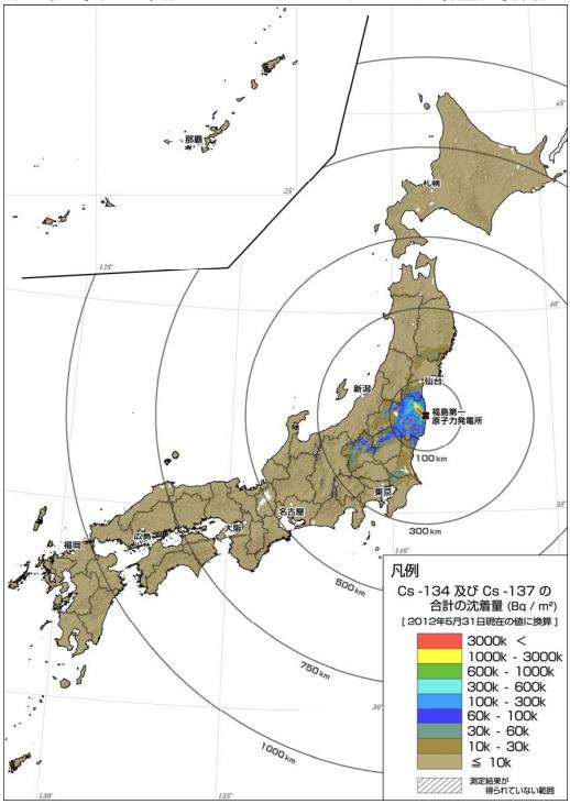 でたらめ汚染地図8