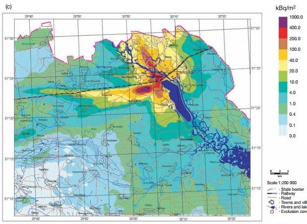 チェルノブイリ汚染地図4