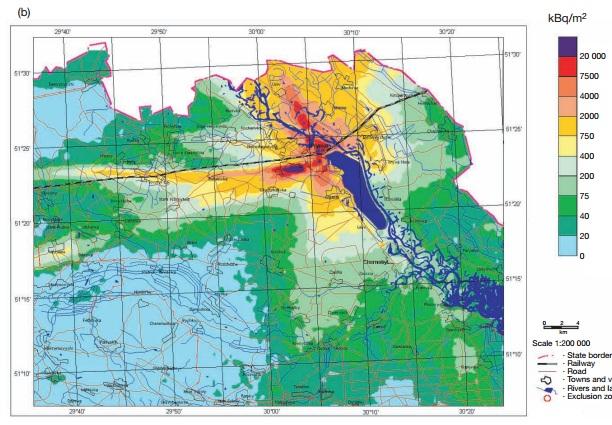 チェルノブイリ汚染地図3