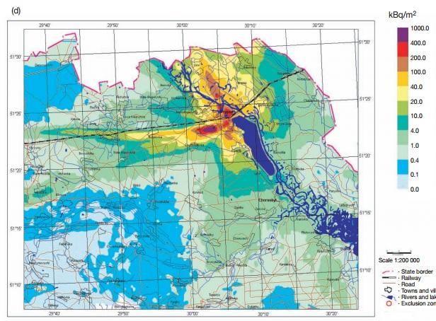 チェルノブイリ汚染地図5