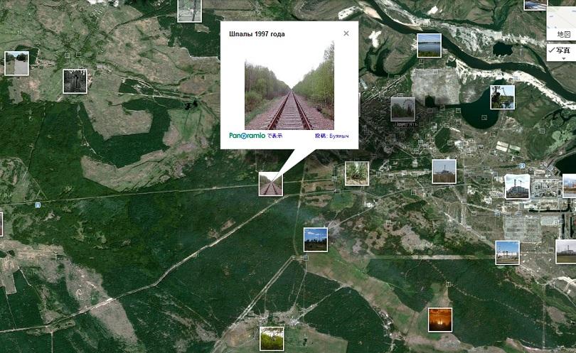 チェルノブイリ汚染地図7