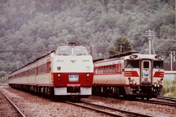 1985年頃の夏 石北本線