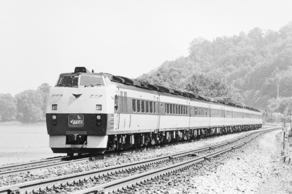 1985年頃の夏 函館本線 大沼
