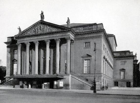 ベルリン州立劇場1928年