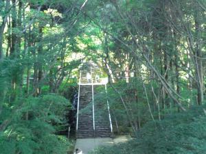 根香寺階段