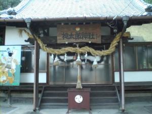 桃太郎神社本殿