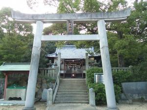 桃太郎神社鳥居2