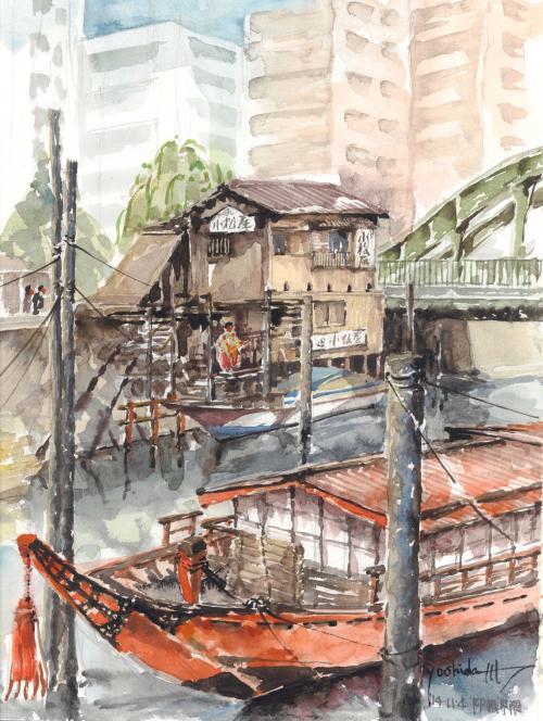 柳橋界隈(A3)