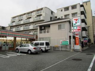 神戸大和郵便局とセブンイレブン