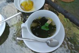 カフェのスープ