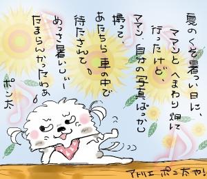 夏の暑っい日~!